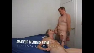 Attractive blonde masseuse fucked and facialized on the table