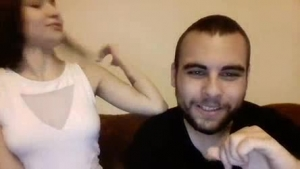 Sexy second rate European cam whore gets rolling