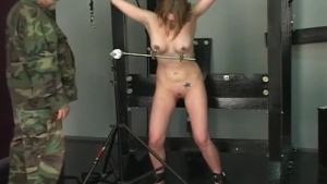 Paige Owens is playing with her massive tits while her married father's man is drilling her pussy
