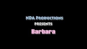 Barbara is getting her pussy filled up with dick so she will be satisfied very quickly