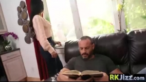 Busty, fat milf is cheating on her husband with her handsome gardener, once in a while